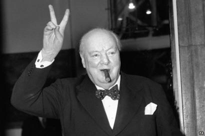 """Image courtesy of BBC News, """"Winston Churchhill: How a Flawed Man Became a Great Leader,"""" John Simpson, World Affairs Editor"""