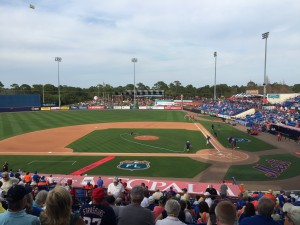 Tradition Field in steamy Port St. Lucia